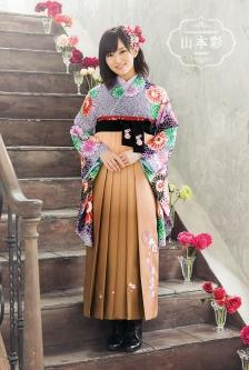 山本彩 袴