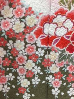 着物の柄~桜~