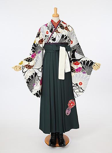 袴Style 11 モノトーン