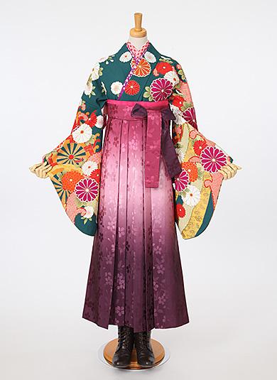袴Style 14 グラデーション