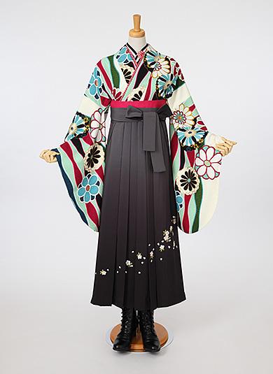袴Style 20 チャコールグレ