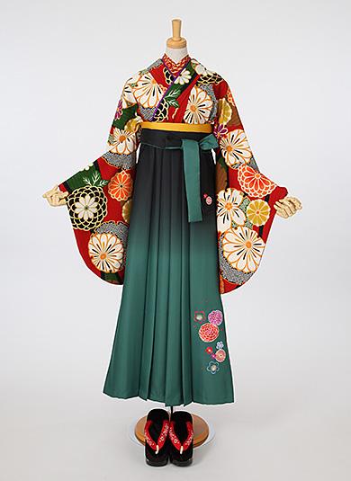 袴Style 23 萌黄