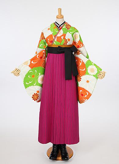 袴Style 5 バーガンディ