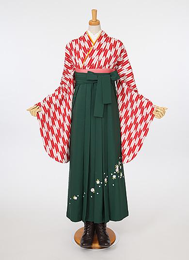 袴Style 7 矢羽根
