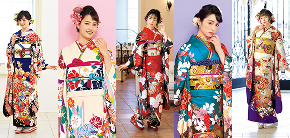 YUMEKIRARA Furisode Collection